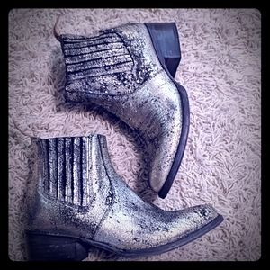 Free Bird by Steven Leather Bootie